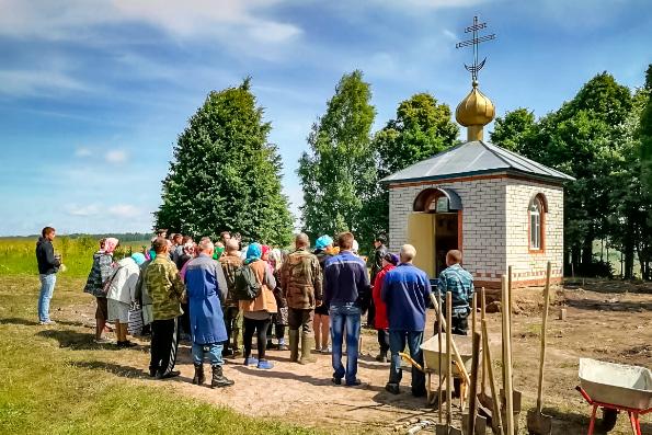 В Никольском скиту Раифского монастыря началась подготовка к возведению деревянного храма